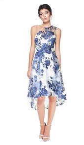 floral embroidered cocktail dress marchesa notte hire dresses