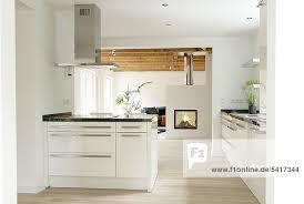 küche offen wohnzimmerschrank eiche hell haus design ideen offene kuche