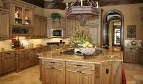 kitchen trendy kitchen island with glass cabinets captivating