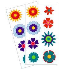 dishwasher safe kids u0027 flower stickers u2013 revelae kids