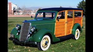 green ford station wagon ford v8 woodie station wagon