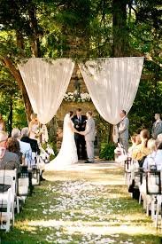 wedding backdrop altar outdoor wedding altar