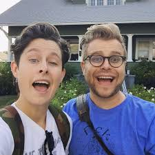 adam who is adam conover u0027s girlfriend married more about his real sister