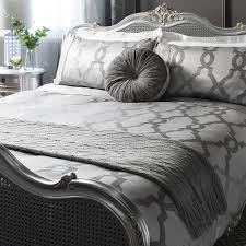Jacquard Bedding Sets Luxury Jacquard Quatrefoil Duvet Quilt Cover Bedding Bed Set