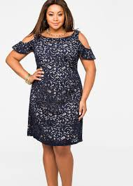 cold shoulder dress plus size dresses lace overlay cold shoulder dress