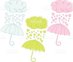 umbrella baby shower sketchy baby or wedding shower stock vector more images of