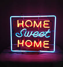 neon lighting for home vintage neon sign home sweet home collectors weekly