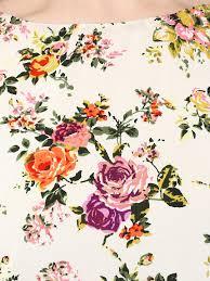 Swayam White N Pink Floral Floral Print Tops Buy Floral Print Tops Online In India