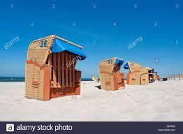 Chairs On A Beach Beach Baskets On A Beach On The Baltic Sea Beach Chairs On A Beach