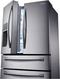 Samsung French Door Refrigerator Cu Ft - samsung rf22kredbsr 36 inch counter depth 4 door french door