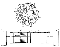 patent us6710505 direct drive inside out brushless roller motor