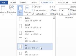 Program Paper Paper Size Guide Which U0027a U0027 Paper Size Do I Need