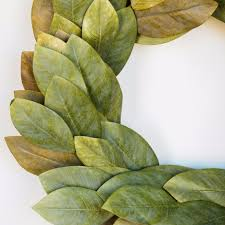 bay leaf wreath signature magnolia wreath magnolia chip joanna gaines