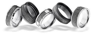 meteorite wedding band meteorite rings and wedding bands jewelers