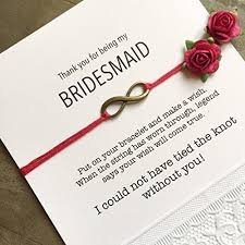 thank you bridesmaid cards bridesmaids thank you gifts bridesmaid cards