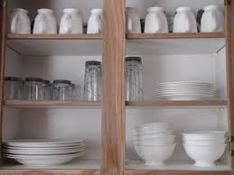 organize everything the kitchen cabinets clean and scentsible