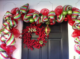 cheap deco mesh deco mesh garland and refurbished wreath crafty