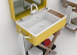 my bag portable bathroom by olympia ceramica