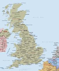England Blank Map by Uk Map Cities U2013 Otme