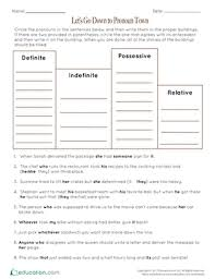 4th grade pronouns learning resources education com