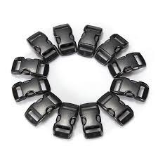 buckle paracord bracelet images 100pcs black paracord bracelet buckles curved release clasp jpg
