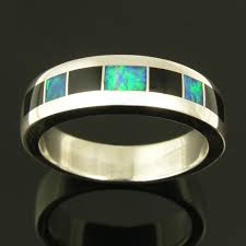 black opal mens ring black onyx hileman jewelry blog dinosaur bone turquoise