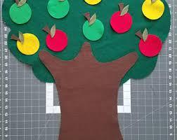 felt tree etsy
