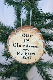 amazon com our 1st christmas as mr and mrs 2017 christmas