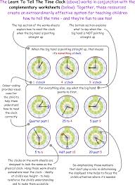 Time Clock Worksheets Clock Explained Bounce Learning Kids