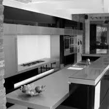 cuisine noir et gris cuisine moderne noir et blanc zoom design de masion