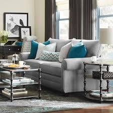 hgtv home design studio at bassett queen sofa sleeper living room bassett furniture