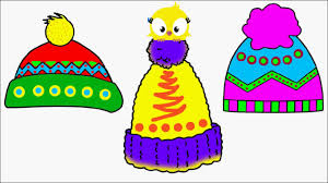 winter hat coloring pages how to draw winter hat coloring pages videos for children art