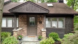 need help with front door color for dark brown cedar house