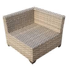 Patio Furniture Set by Tk Classics Hampton 07a Hampton 7 Piece Outdoor Wicker Patio