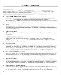 free printable lease agreement apartment rental contract agreement apartment rental contract