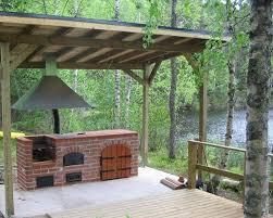 garden kitchen ideas kesäkeittiö katoksen alla seuraavaksi projektiksi kesämökki