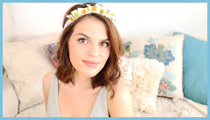 flower headbands hair curls flower headbands