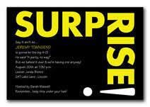 invitation wording samples by invitationconsultants com surprise