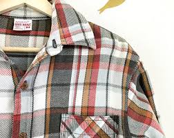 Most Comfortable Flannel Shirt Vintage Flannel Etsy