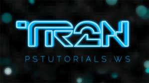 tutorial photoshop cs5 membuat logo how to create glowing tron inspired 3d text in photoshop extended