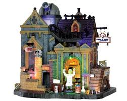 lemax spooky town lemax spooky town dr gloom n doom s laboratory with adaptor 35493