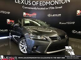 used lexus ct hybrid review new lexus ct 200h in edmonton lexus of edmonton