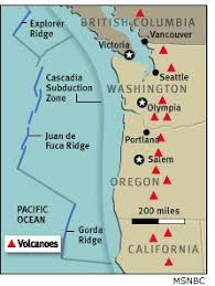 physical map of oregon juan de fuca plate 13 best cascadia subduction zone images on cascadia