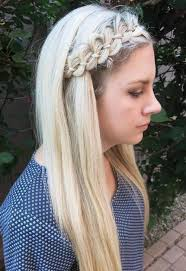 hair braid across back of head 40 cute and comfortable braided headband hairstyles