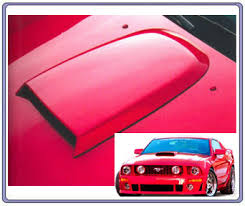 cheap mustang hoods 2005 2009 mustang scoops mrbodykit com the most diverse