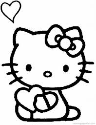 free printable coloring pages kitty coloring pages