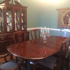 kincaid dining room sets find more beautiful kincaid cherry dining room set table with two
