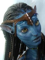Halloween Avatar Costume Custom Headpiece Neytiri Avatar Costume Halloween Headband