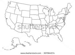 illustrator usa map outline 2 usa stock images royalty free images vectors