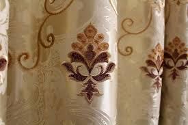 airdodo european damask blackout grommet single curtain panel